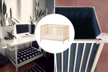 ikea crib upcycle ideas