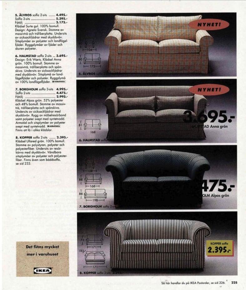 IKEA SOFA 1996