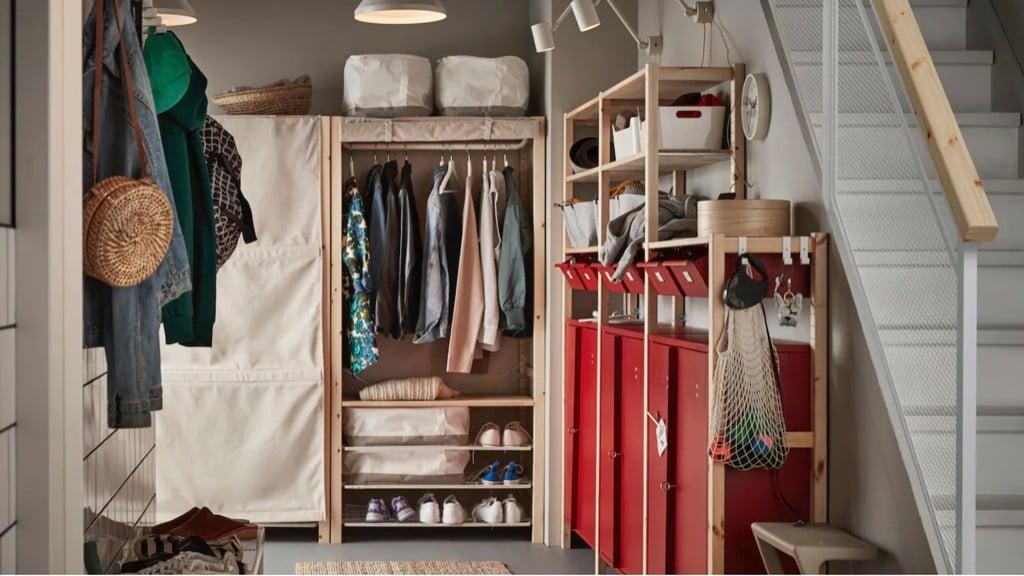IKEA IVAR door alternatives - fabric cover