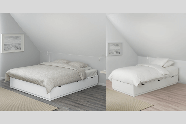 nordli twin bed