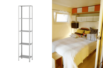 over the bed storage