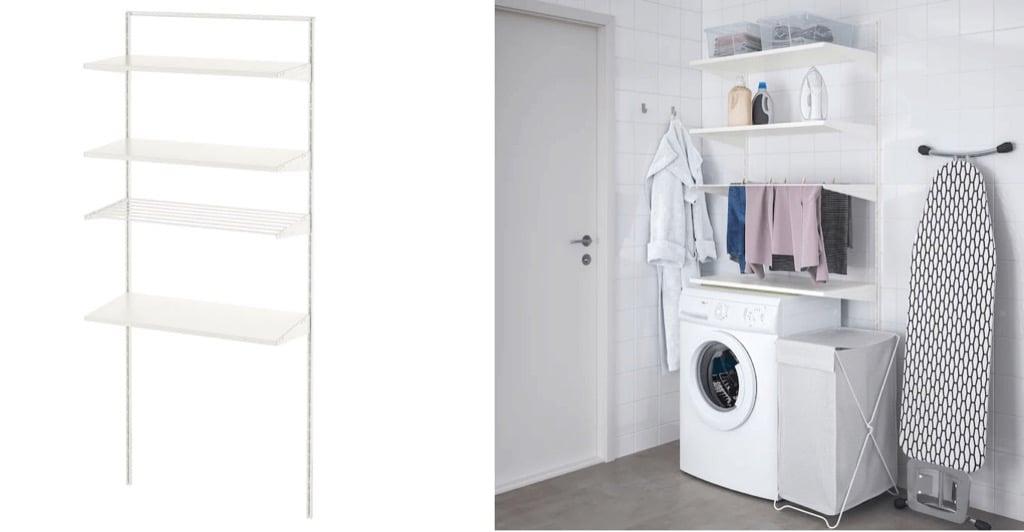 ikea laundry room organization