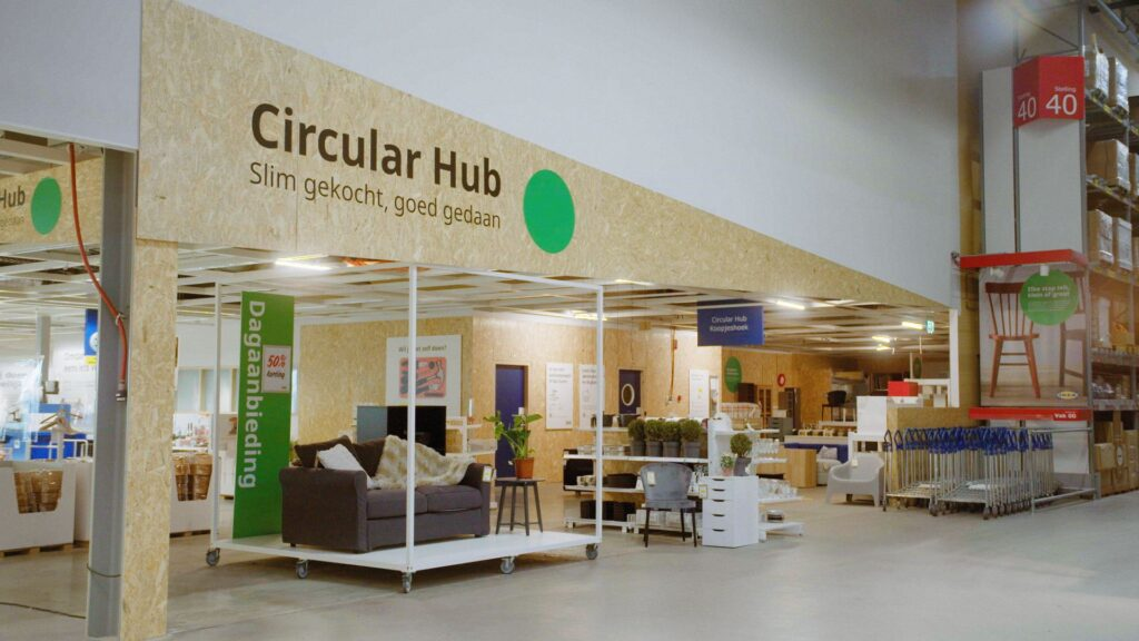 IKEA circular hub