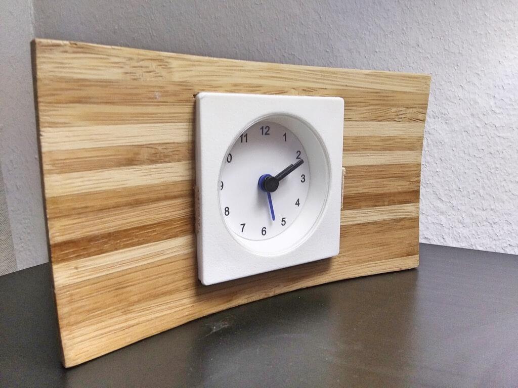 mcm clock ikea hack