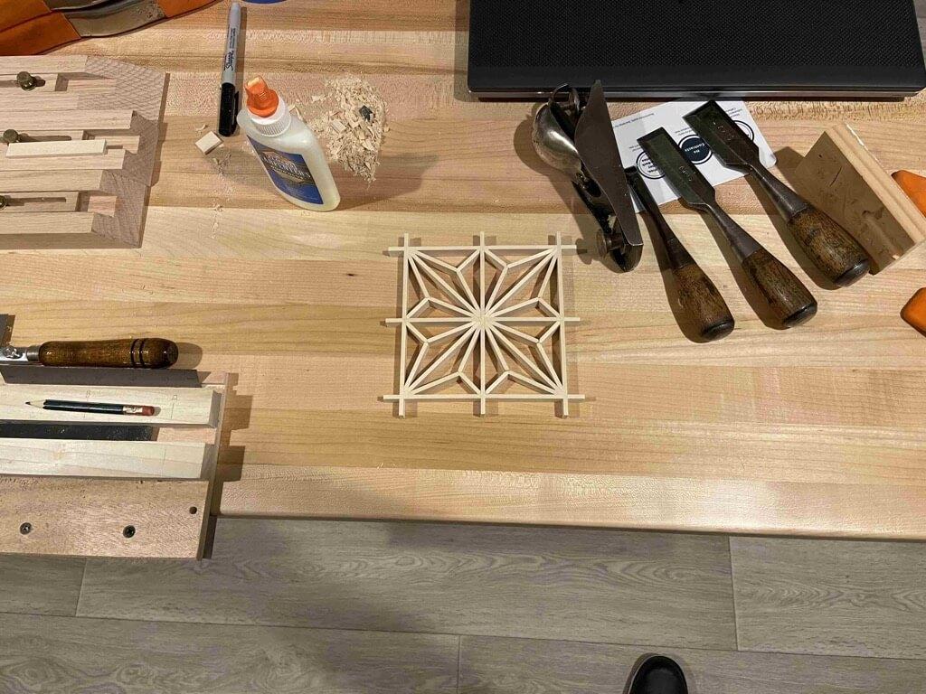 kumiko woodworking