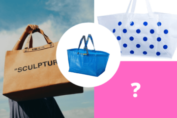 ikea blue bag evolution