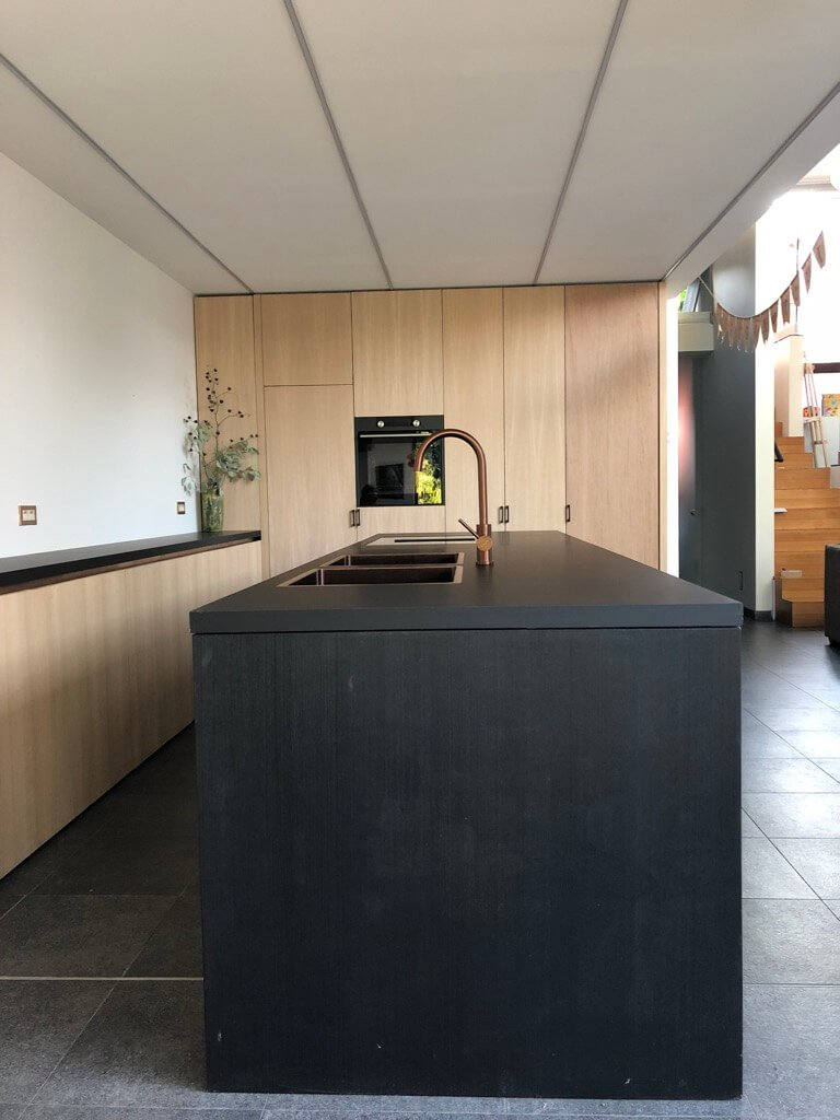 IKEA dream kitchen with custom fronts