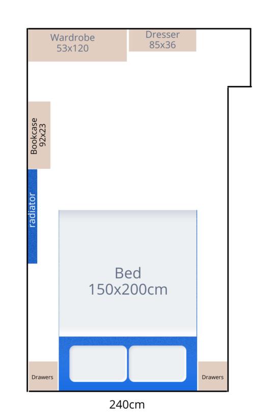 bedroom layout - IKEA bedroom storage ideas