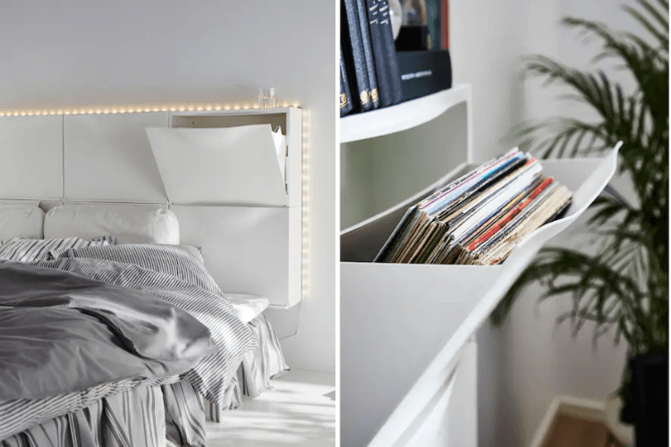 IKEA bedroom storage ideas