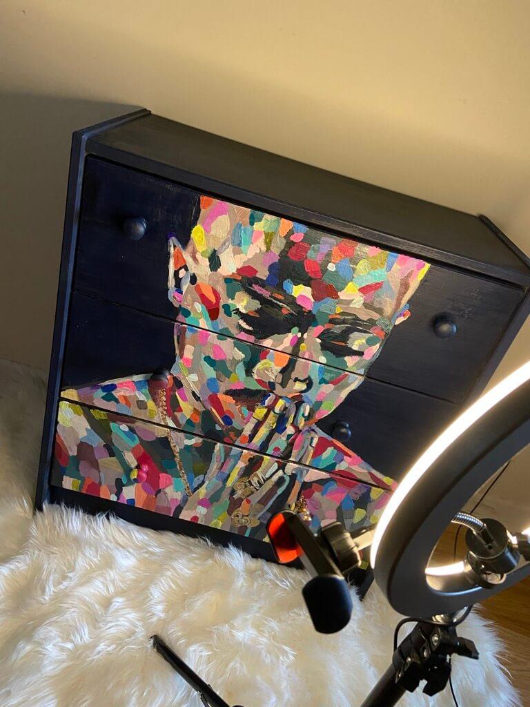 pop art dresser