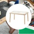 ikea flisat table hacks