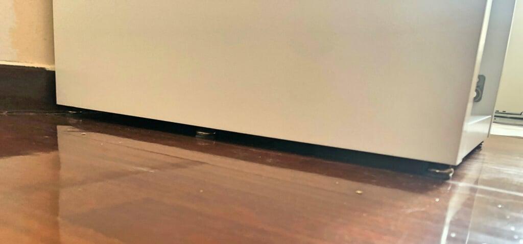 IKEA micke drawer unit raised