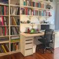 MICKE home office set up idea