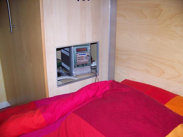 bedside cubby