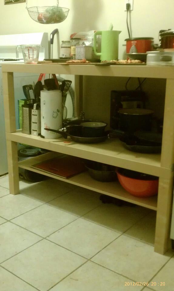 Exceptionnel Lack Kitchen Shelving Unit/Island