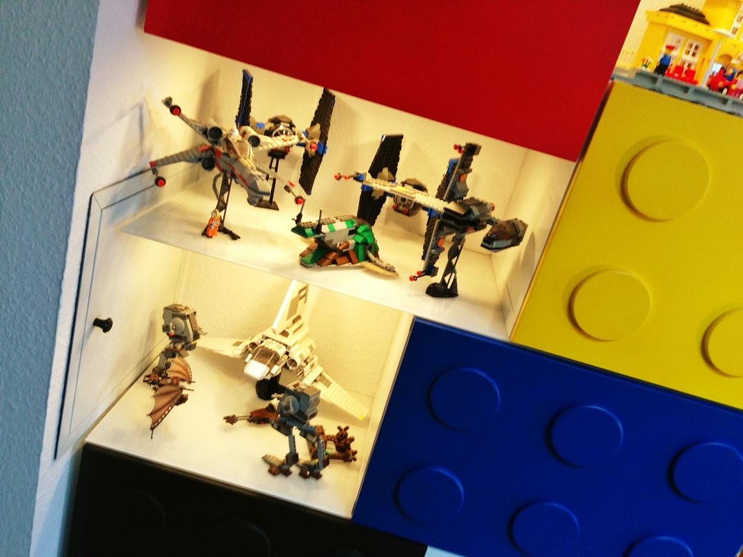 IKEA BESTA LEGO shelves