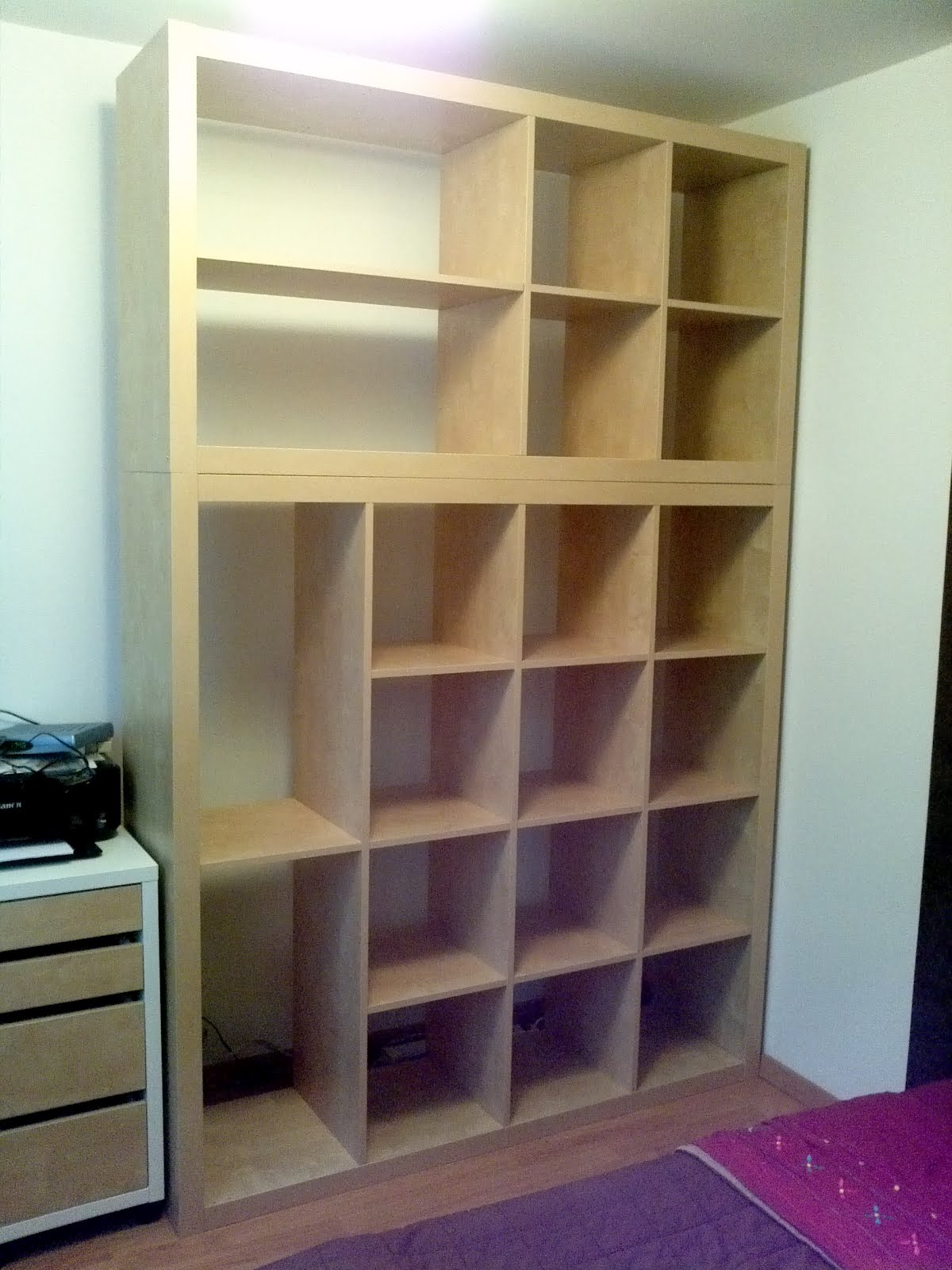 Old Expedit To DressingStorage IKEA Hackers