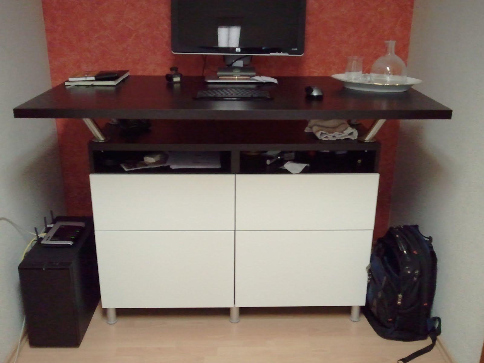 Corner Extra Tall Standing Desks IKEA Hackers IKEA Hackers