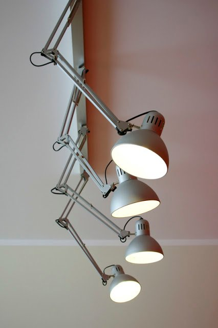 Tertial chandelier