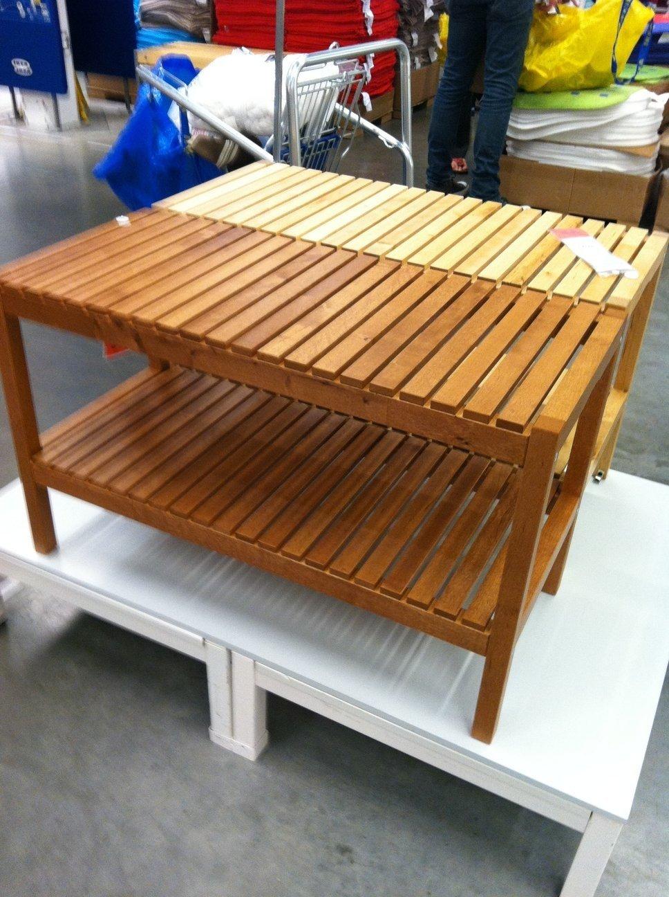 Custom shoe rack and bench - IKEA Hackers - IKEA Hackers