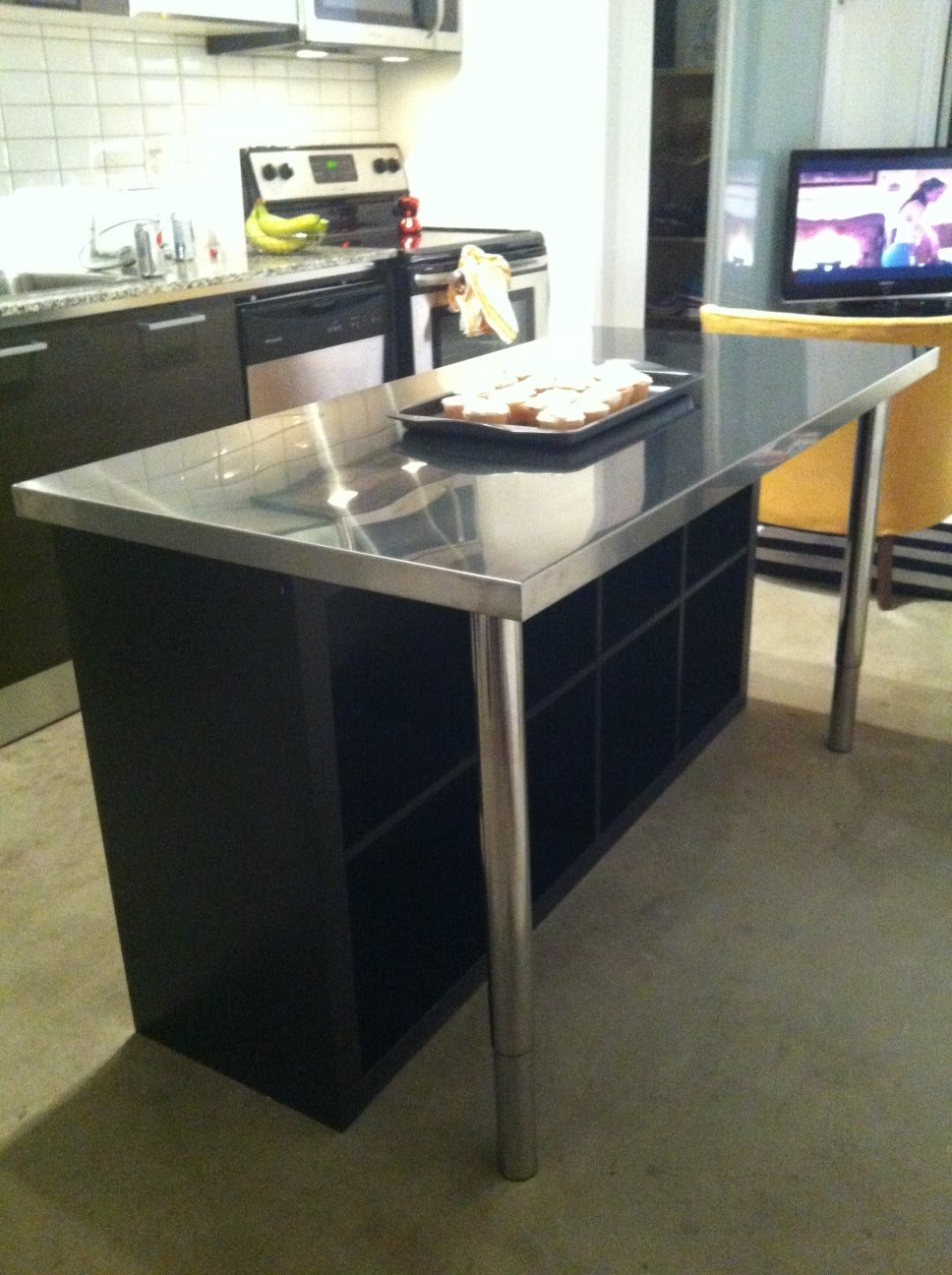 Ikea Kitchen Islands At Home And Interior Design Ideas # Meuble Bar Ikea