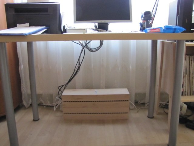 Use Boalt To Hide The Ugly Things Under The Desk Ikea