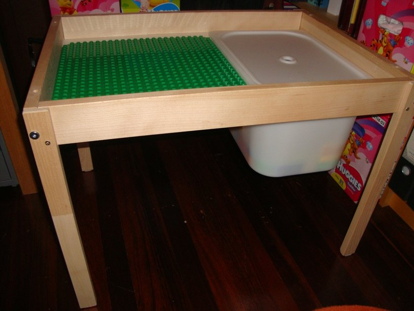Ikea Toddler Bed Fitted Sheet ~ From change table to two level play table  IKEA Hackers  IKEA