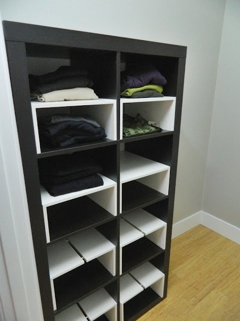 If Only Ikea S Simple Half Shelf Inserts Seriously Why Aren T They I Can Be The One That Thinks This