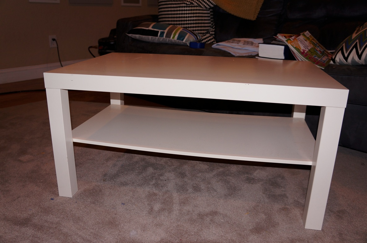 Upholstered lack hack ikea hackers ikea hackers - Ikea table basse lack ...