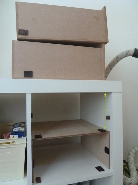 KALLAX underbed drawers