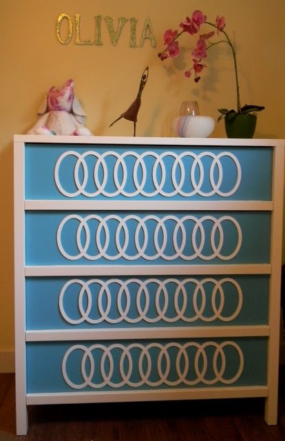 IKEA Dresser with O'verlays