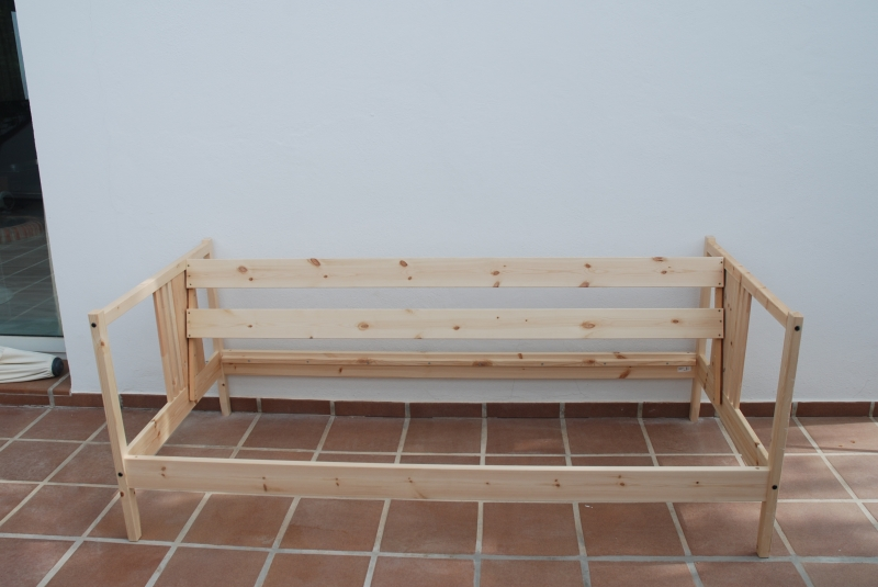 Outdoor Sofa From Fjellse Bed Ikea