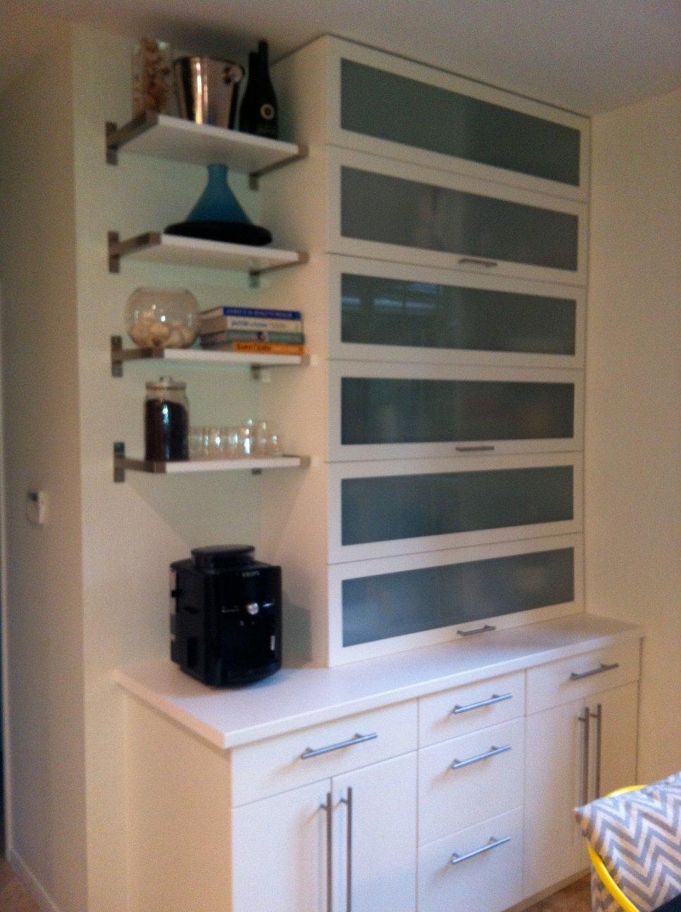 garage upper cabinet ideas - Kitchen Appliance Garage IKEA Hackers IKEA Hackers