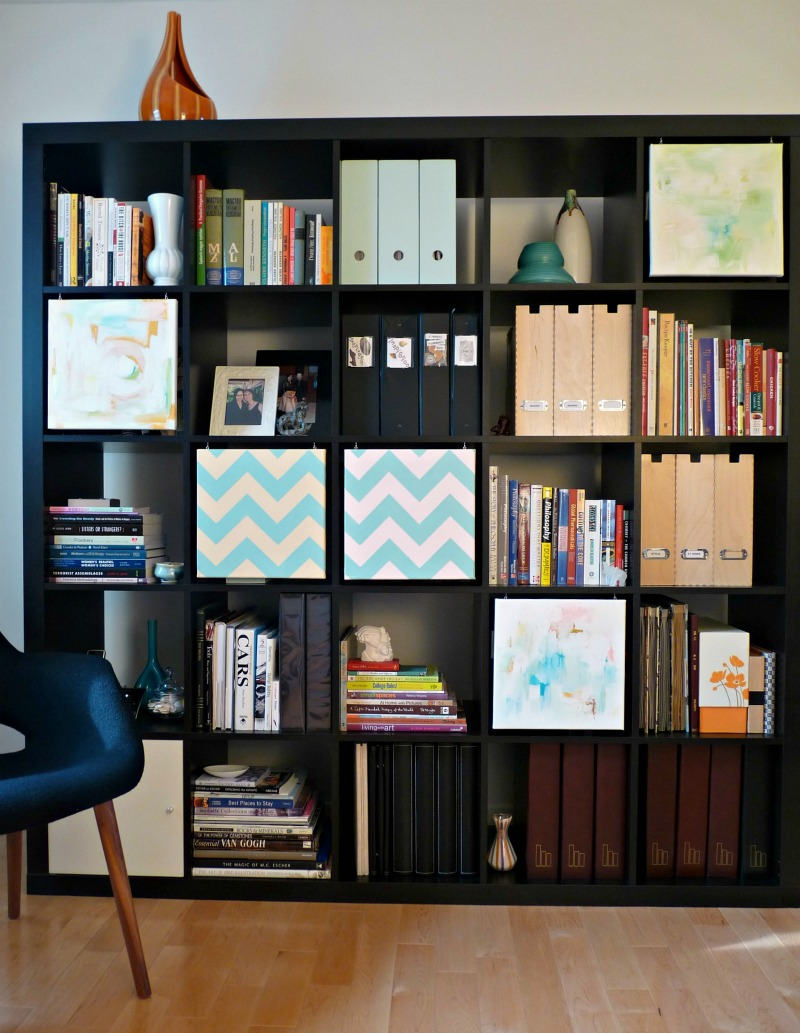 Artful expedit ikea hackers ikea hackers - Etagere cube ikea expedit ...