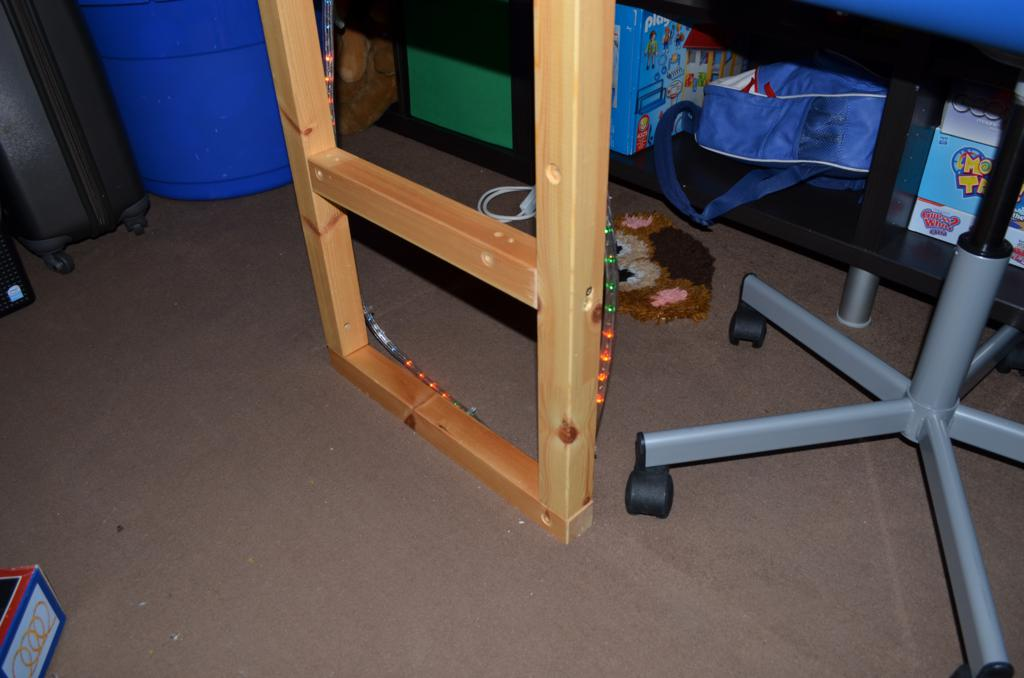 Amazing Saw through the upright supports just below the main bed section to leave the top part of the bed with the slats in place if you ure careful and use a
