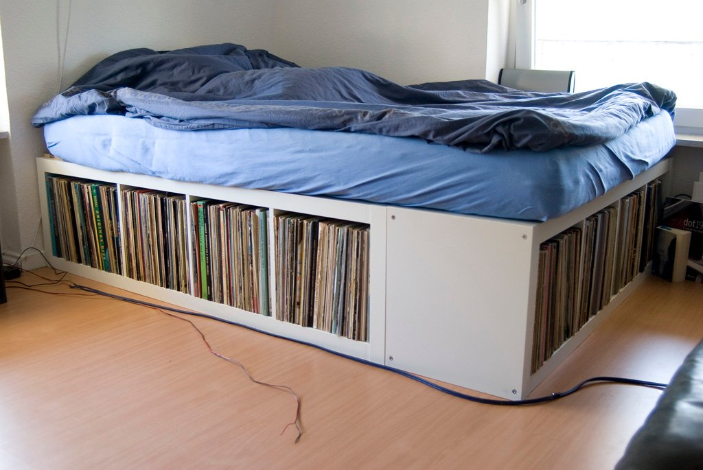 Expedit Bed Frame Ikea Hackers,Small Kids Bedroom Storage Ideas