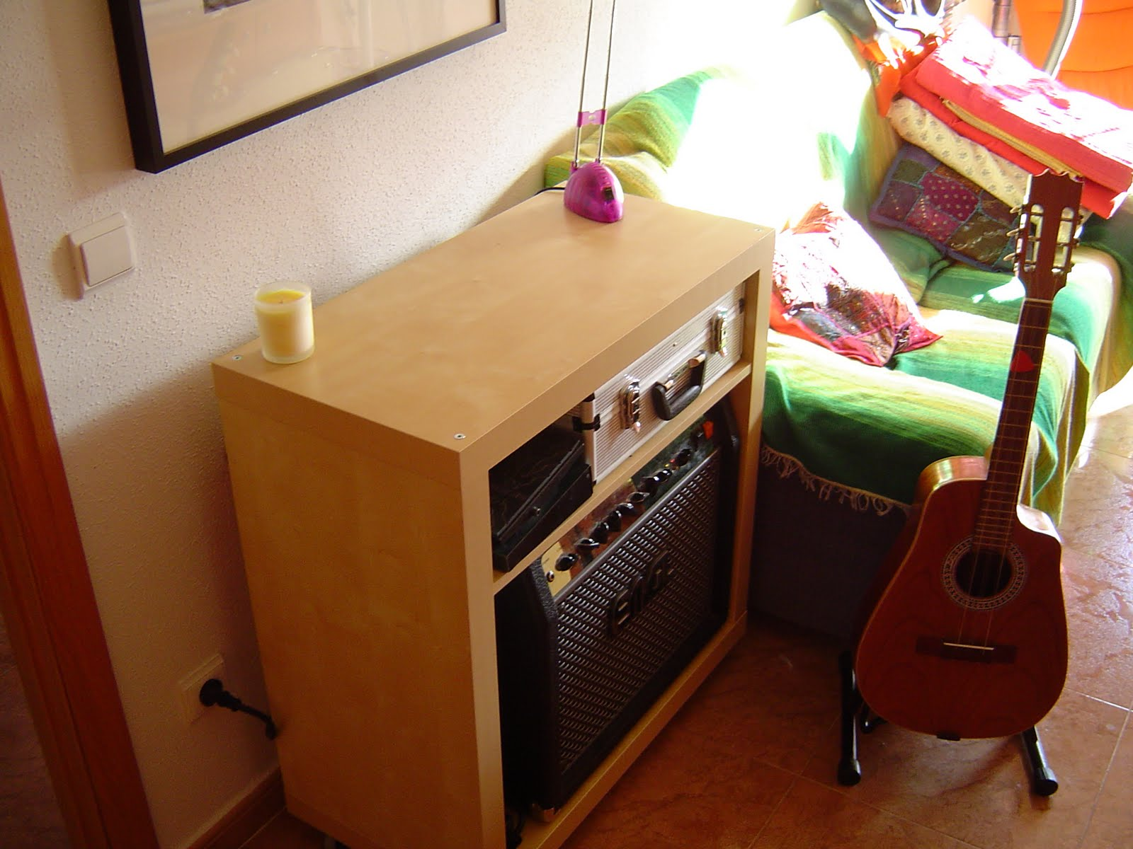 expedit turned into a guitar amp enclosure - ikea hackers