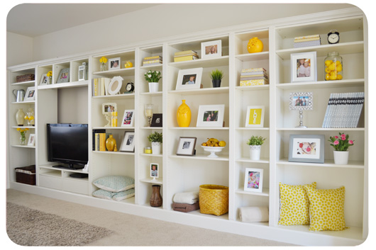 built in Billy bookcase