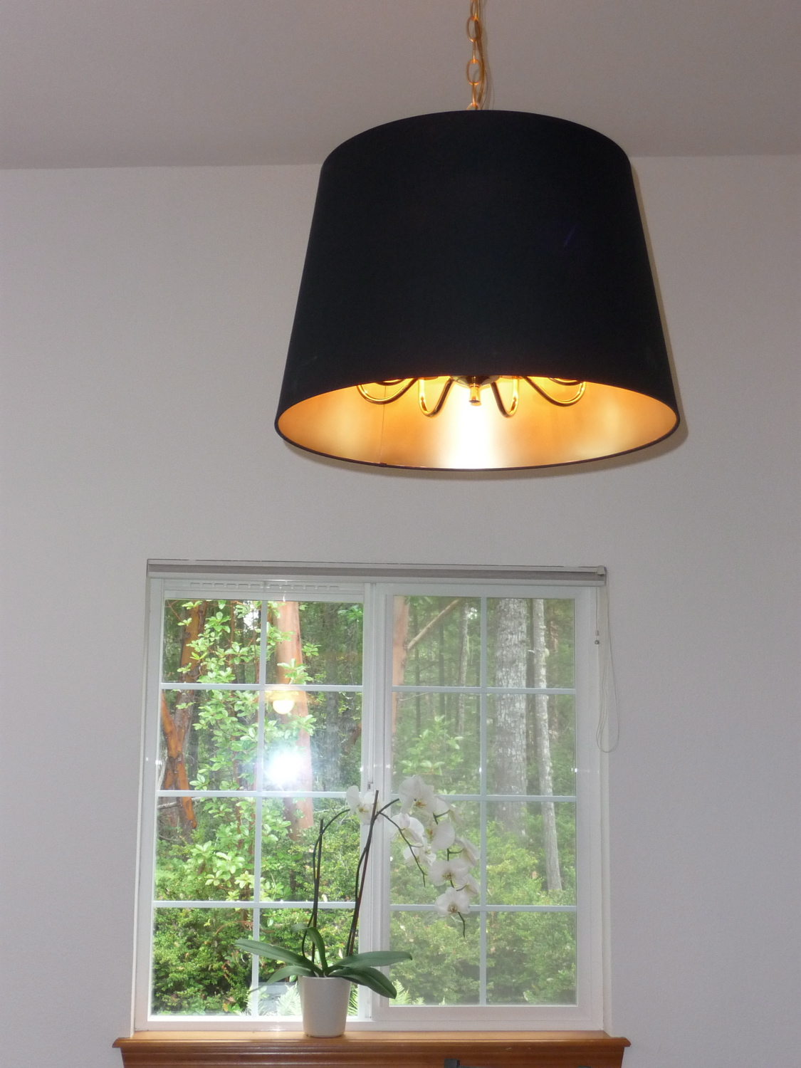 jara lamp shade over hanging ceiling light ikea hackers ikea