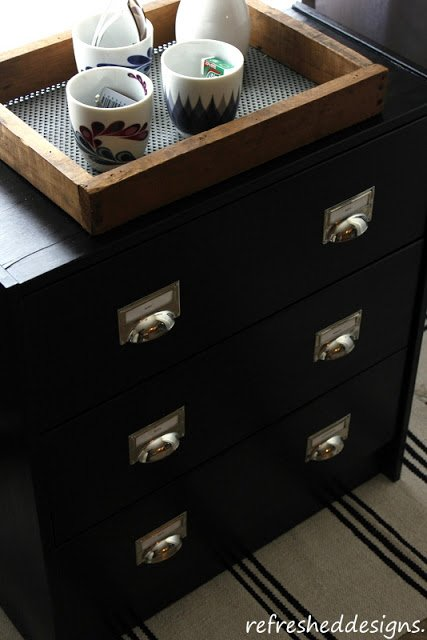 IKEA RAST hack  - Industrial looking dresser