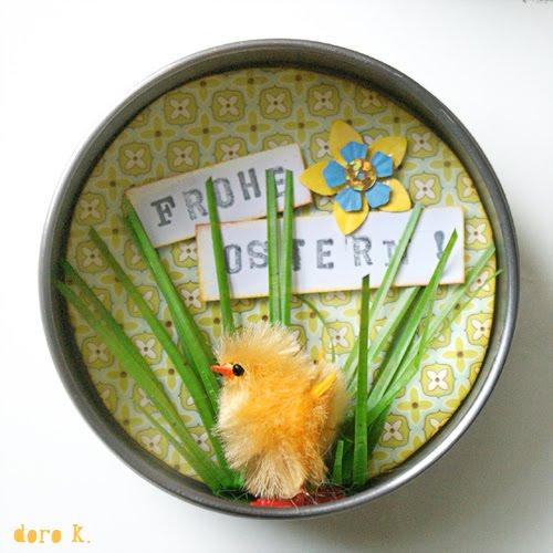Tiny Easter diorama - a cute gift idea