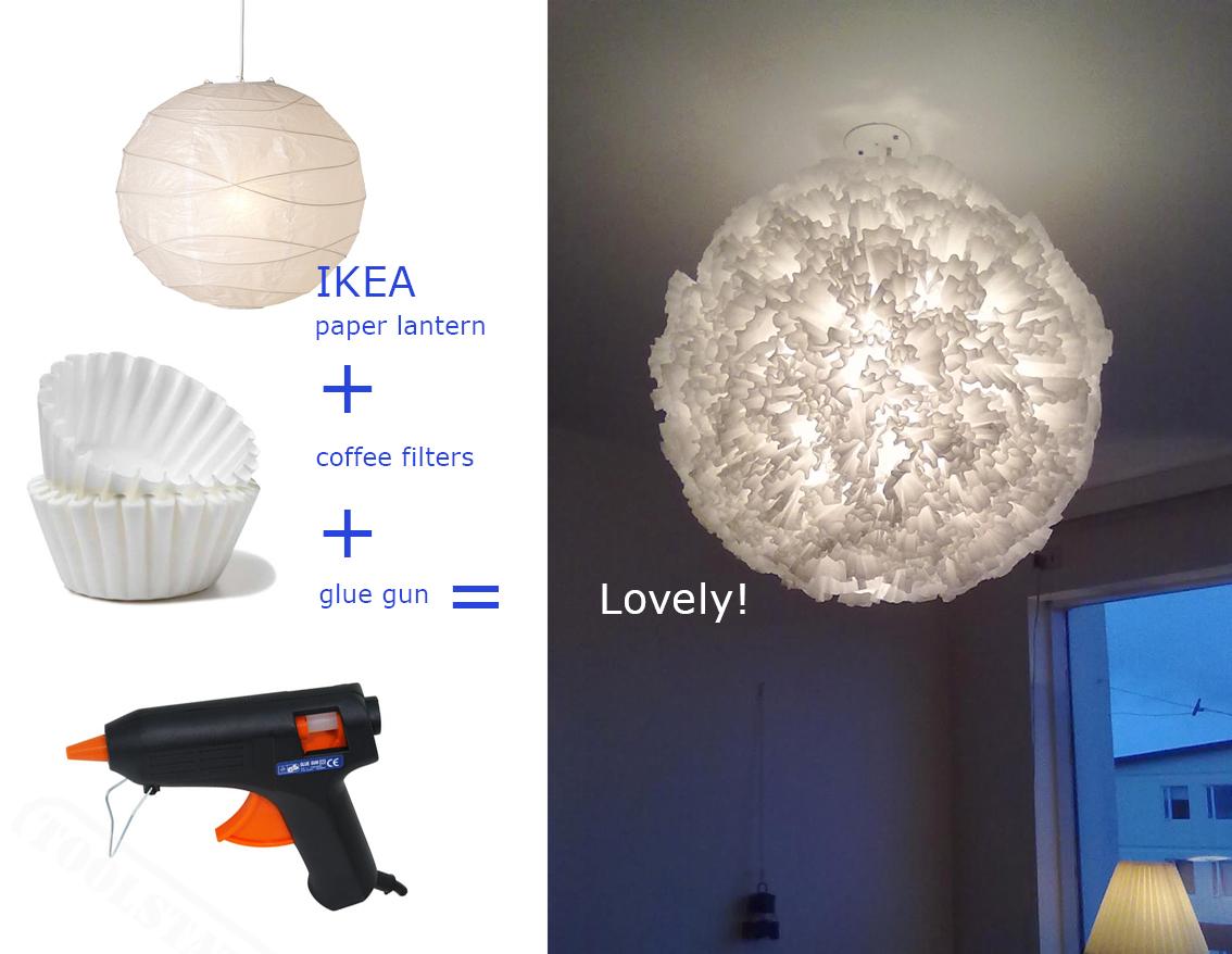 Materials Ikea Paper Lantern Regolit