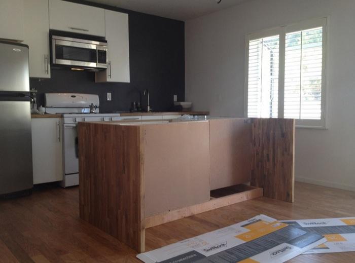 Malm Meets Numerar Kitchen Island, Kitchen Island Using Ikea Base Cabinets