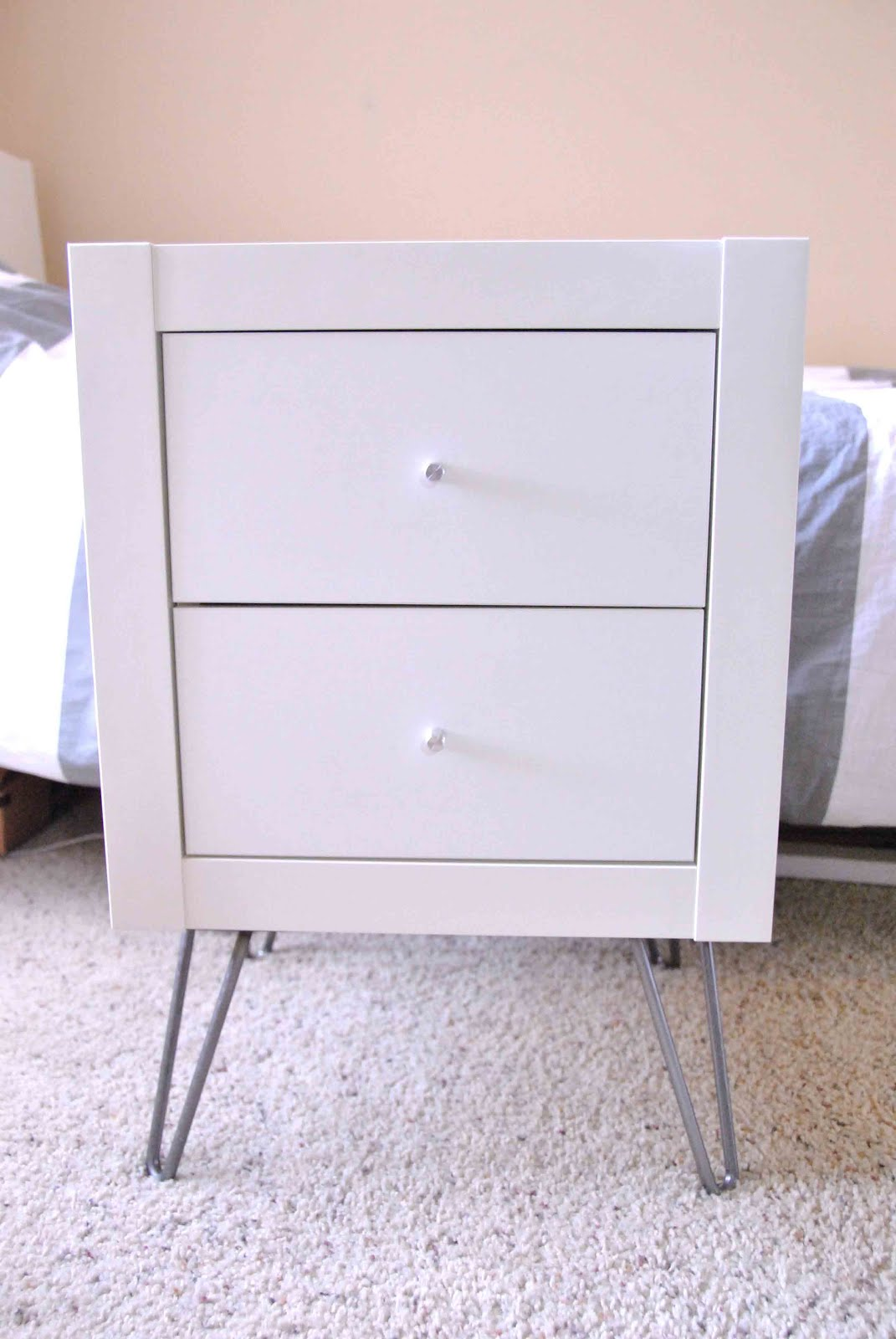 Expedit Wall Shelf Into Nightstand Ikea Hackers