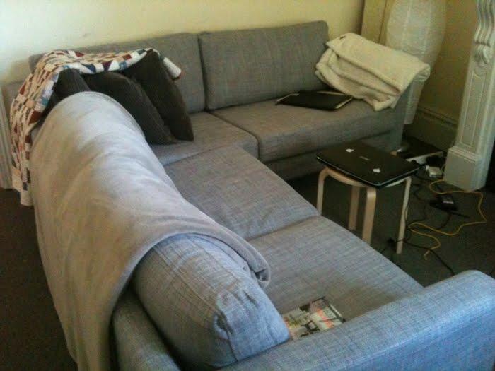 Baby Karlstad corner sofa - IKEA Hackers
