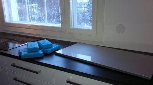 cold serving platform
