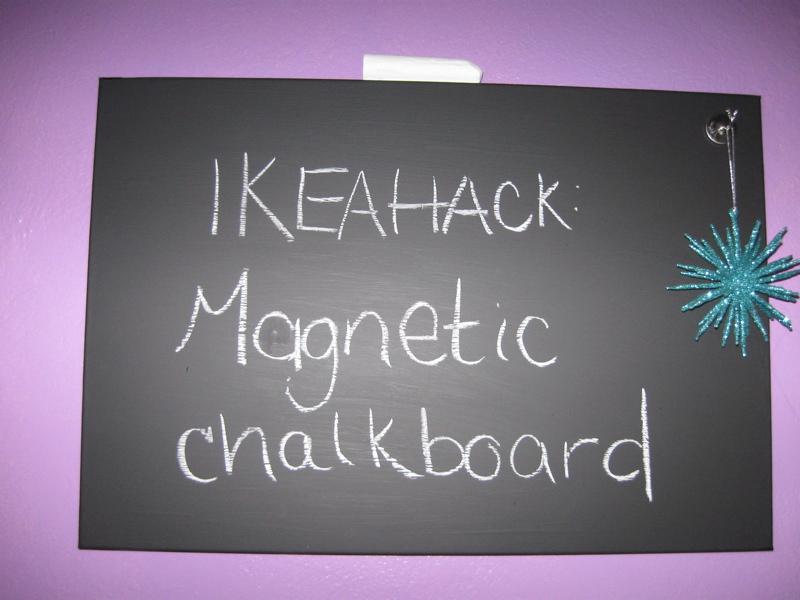 SPONTAN Magnetic NOT Markerboard - IKEA Hackers - IKEA Hackers