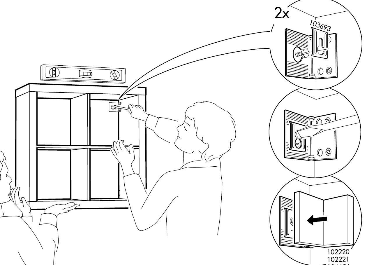 buy popular 87e10 e53cd How to: Mount a SAFE floating 2 x 4 EXPEDIT shelf - IKEA Hackers