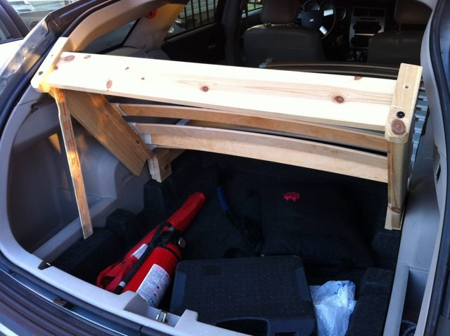 bed for station wagon