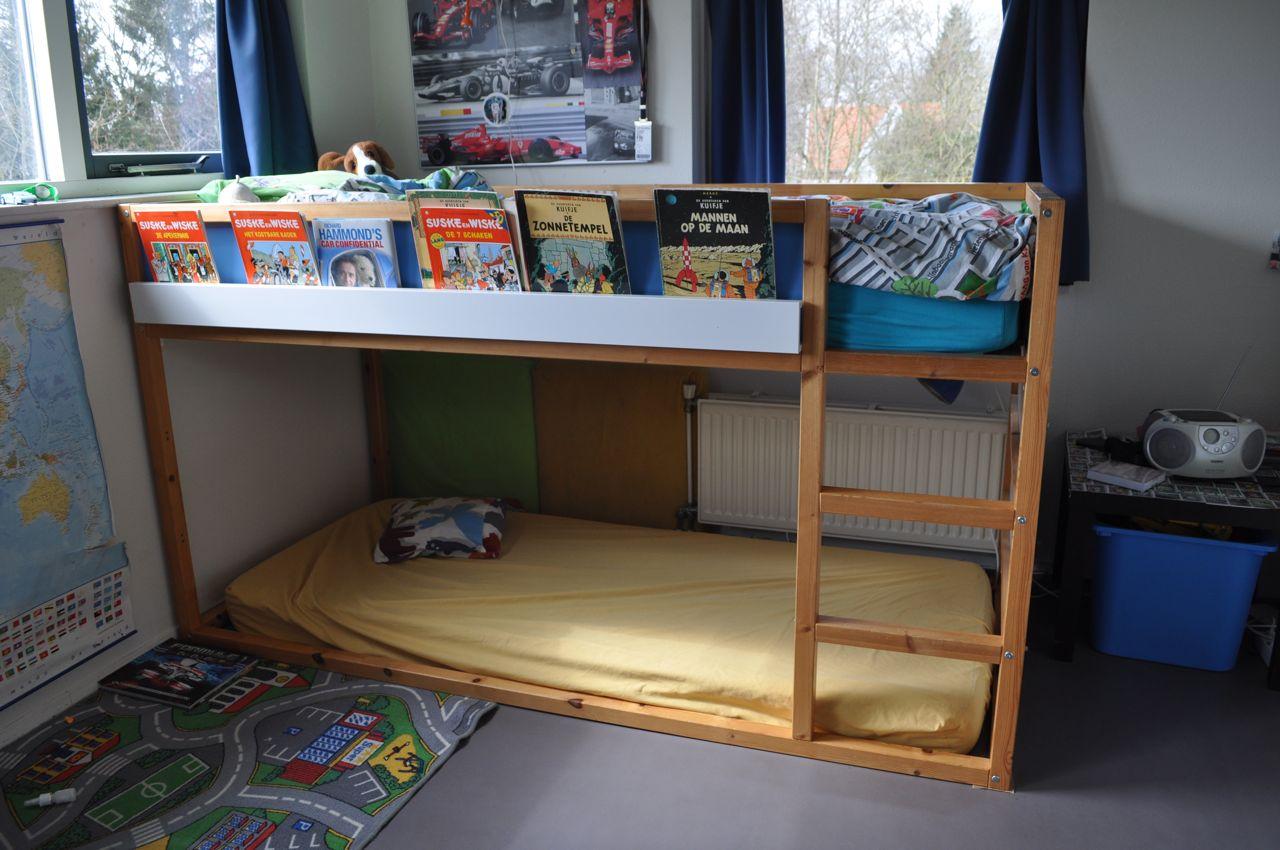 High Sleeper Bookshelf Kura Ribba Ikea Hackers